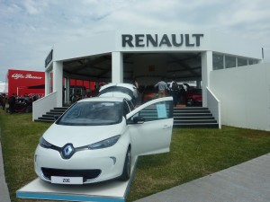 Renault Powered by ShowPower at Goodwood Festival of Speed