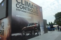 ShowPower in Climate Controlled environment for Volvo